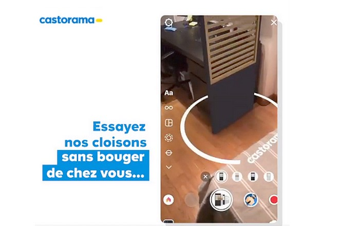 Castorama digitalise ses prospectus pour gagner en efficacité, exemple avec la réalité augmentée