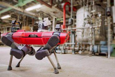 Inspection d'usine : des robots marcheurs testés chez le chimiste BASF