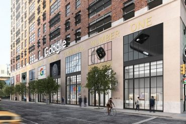 Visite du premier magasin Google ouvert à New-York