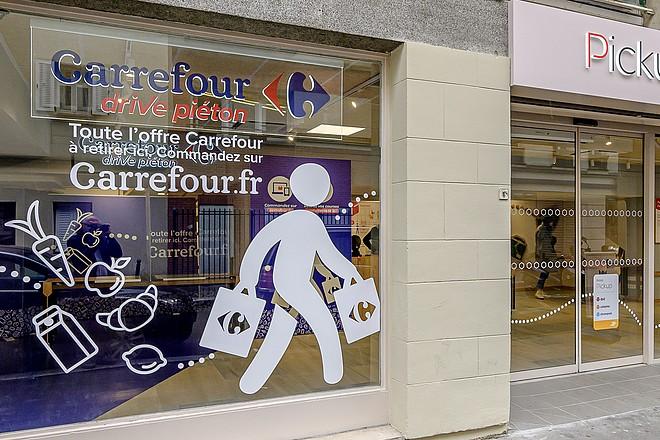 La croissance de l'e-commerce alimentaire se poursuit chez Carrefour