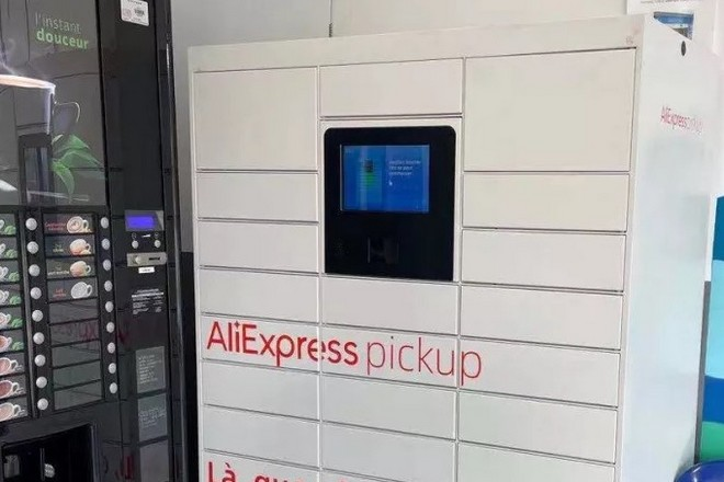 La place de marché AliExpress déploie 650 consignes automatiques en France