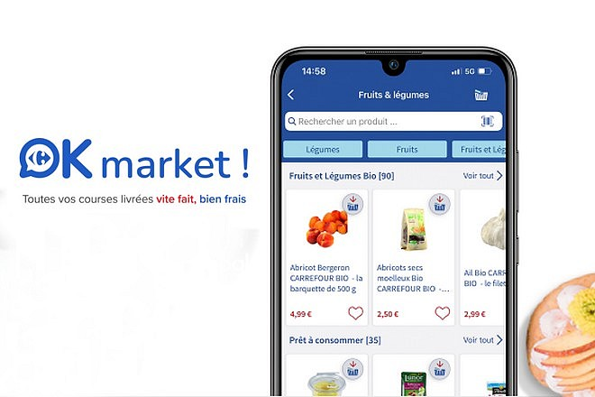Carrefour lance un service de « personal shopper » pour les courses alimentaires