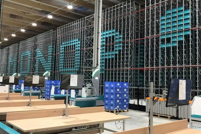 Monoprix inaugure son nouvel entrepôt robotisé neutre en carbone
